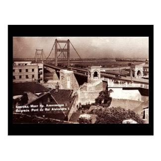 Old Postcard, Belgrade in 1938 Postcard