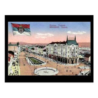 Old Postcard, Belgrade, Terazije Postcard