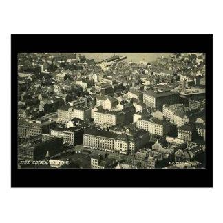 Old Postcard, Bergen, Norway, in 1937 Postcard