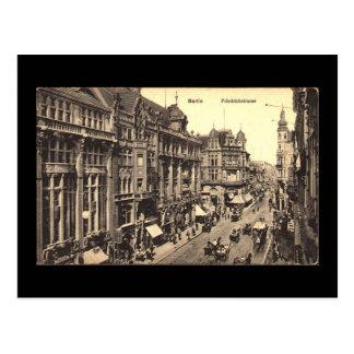 Old Postcard, Berlin, Friedrichstrasse