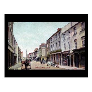 Old Postcard - Birr, Co Offaly, Ireland