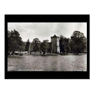 Old Postcard - Bisham Church, nr Marlow
