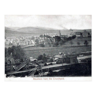 Old Postcard, Blackford, Perth and Kinross Postcard
