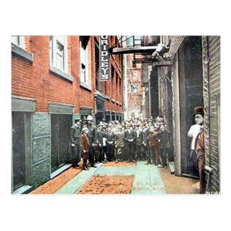 Old Postcard - Boston, Massachusetts