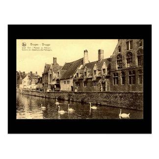 Old Postcard, Bruges