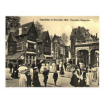 Old Postcard - Brussels Expo 1910