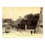 Old Postcard - Calais, Monument
