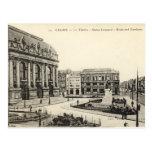 Old Postcard - Calais, Theatre