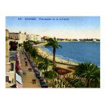 Old Postcard - Cannes, La Croisette