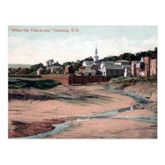 Old Postcard - Canning Nova Scotia, Canada