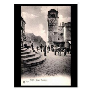 Old Postcard - Capri, Italy
