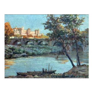 Old Postcard - Carcassonne, Aude, France