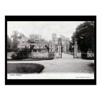 Old Postcard - Castle Ashby, Northamptonshire