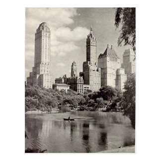 Old Postcard - Central Park, New York City