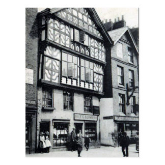 Old Postcard - Chester, England