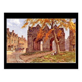 Old Postcard - Chipping Campden, Glos