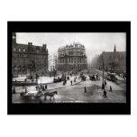 Old Postcard, City Square, Leeds