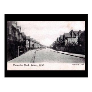 Old Postcard - Clarendon Rd, Putney