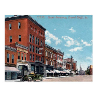 Old Postcard - Council Bluffs, Iowa, USA