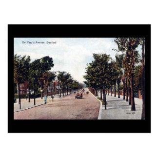 Old Postcard, De Pary's Avenue, Bedford Postcard