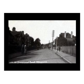 Old Postcard - Drummond Road, Skegness