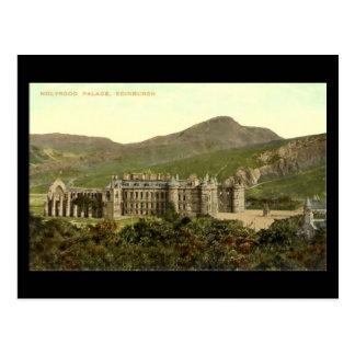 Old Postcard, Edinburgh, Holyrood Palace Postcard