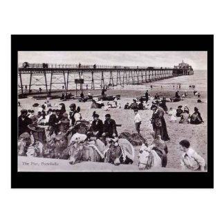 Old Postcard, Edinburgh, Portobello Beach Postcard