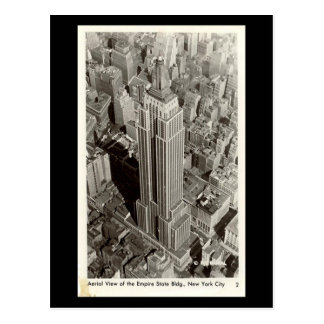 Old Postcard - Empire State Building, NYC