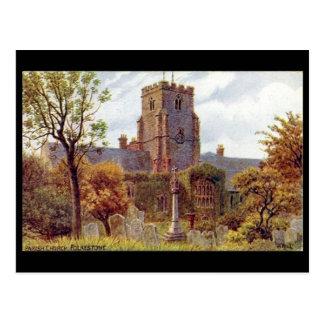 Old Postcard - Folkestone, Kent