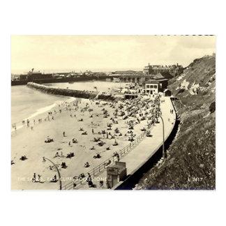 Old Postcard - Folkestone, the Sands