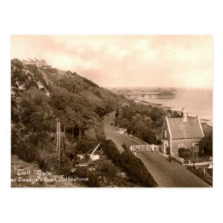 Old Postcard - Folkestone, Toll Gate