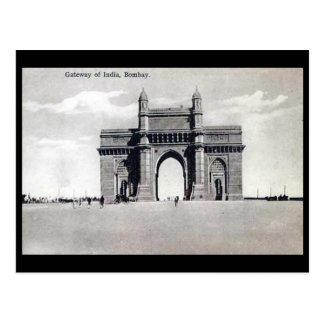 Old Postcard - Gateway of India, Mumbai