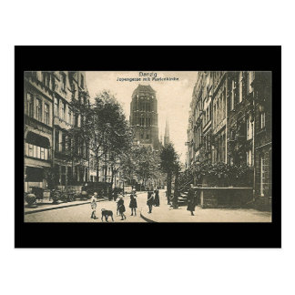 Old Postcard Gdansk Danzig - Jopengasse