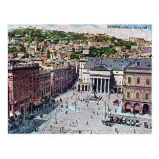 Old Postcard - Genova, Italia