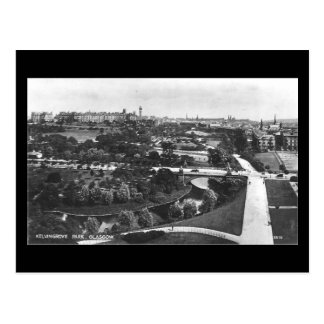 Old Postcard, Glasgow, Kelvingrove Park Postcard