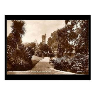 Old Postcard - Glenart Castle, Co Wicklow, Ireland