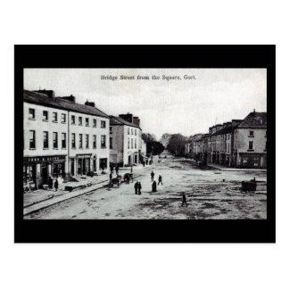 Old Postcard - Gort, Co Galway, Ireland