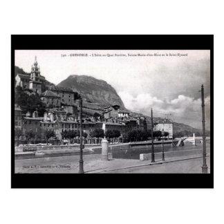 Old Postcard - Grenoble, France.