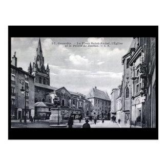 Old Postcard - Grenoble, France