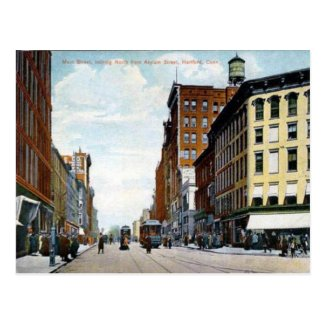 Old Postcard - Hartford, Connecticut, USA