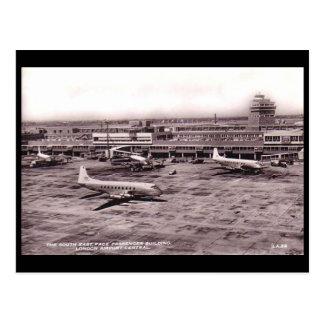 Old Postcard - Heathrow Airport, London