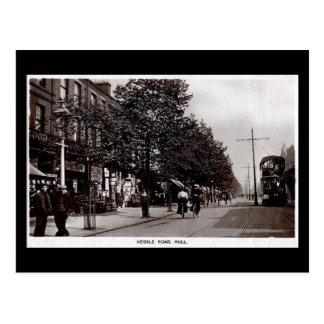 Old Postcard - Hessle Rd, Hull, Yorkshire