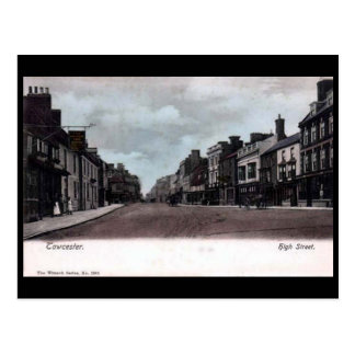 Old Postcard - High St, Towcester, Northants