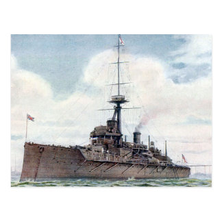 Old Postcard - HMS Colossus