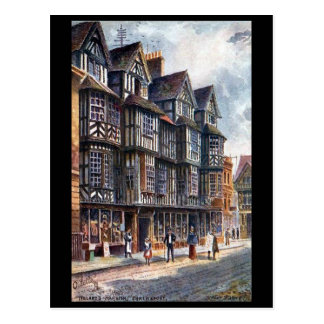 Old Postcard - Ireland's Mansion, Shrewsbury
