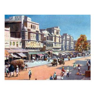 Old Postcard - Jeypore, India