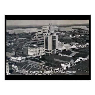 Old Postcard - Johannesburg, Chrysler House