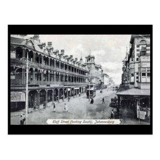 Old Postcard - Johannesburg, Eloff Street