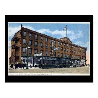 Old Postcard - Keystone Hotel, Philadelphia PA