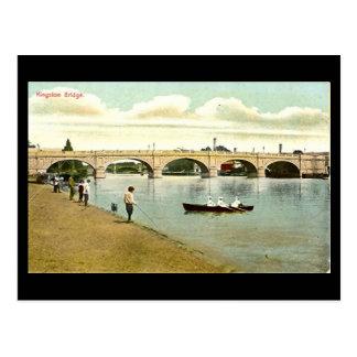 Old Postcard - Kingston Bridge